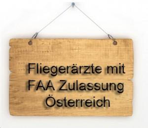 FAA zugelassene Fliegerärzte in Österreich