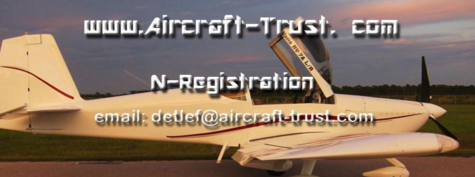 N-Registrierung  Experimental Flugzeug